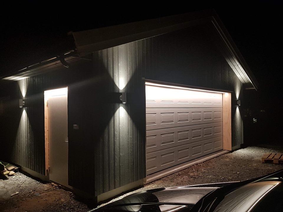 LEDlys til Garasje